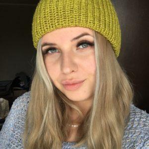 czapka pistacjowa